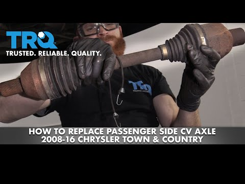 How to Replace Passenger Side CV Axle 2008-16 Chrysler Town & Country