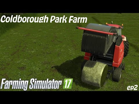 Cold borough Park Farm | Wrapping silage and baling Hay | EP2