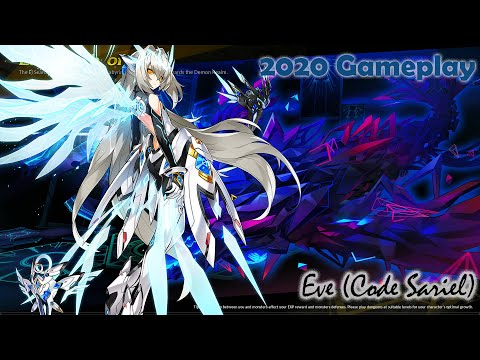 [Elsword] Code Sariel On Labyrinth Of Ruin 12-1 [2020 Gameplay]