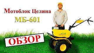 мотоблок Tselina MB-601 обзор
