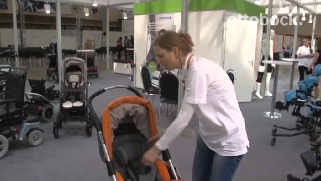 Детская кресло-коляска Кимба и Кимба Нео - YouTube