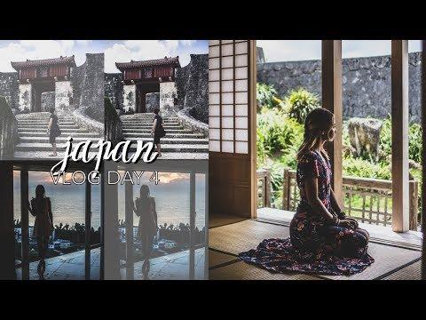 Japan Vlog Day 4 // Okinawa (Shuri Castle, Speaking Japanese, Road Trip Rambling)