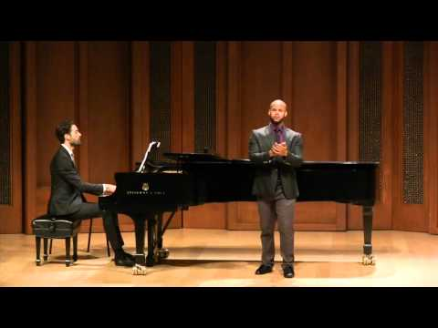 Marilyn Horne Song Competition July 18, 2015 Part 1