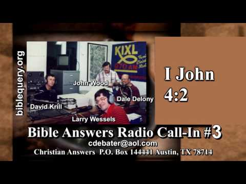 Bible Answers Radio Call-In #4: Resurrection, True Church, Roy Masters, Bob George, God's Chastening