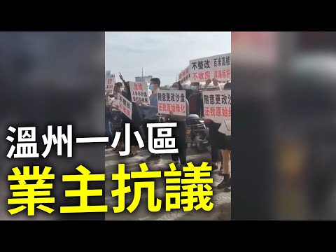 大陆房产消费纠纷四起 多地业主集体维权(图/视频)