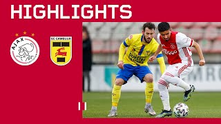 Ünüvar punishes the league leaders | Jong Ajax - SC Cambuur | Highlights Keuken Kampioen Divisie