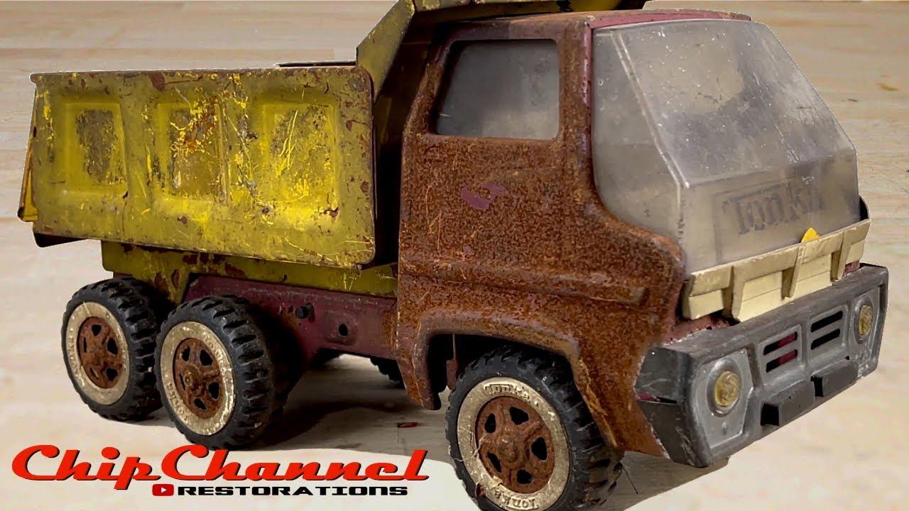 1969 Tonka Gas Turbine Cab Dump Truck No 2465 Semi Truck Restoration