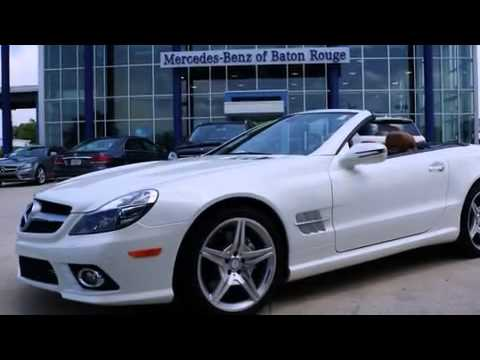 Certified 2012 mercedes benz sl550 new orleans la youtube for 2012 mercedes benz sl550