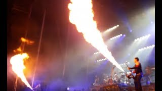 """Rammstein live New Year's Eve in Mexico - Metallica post """"Confusion"""" live"""