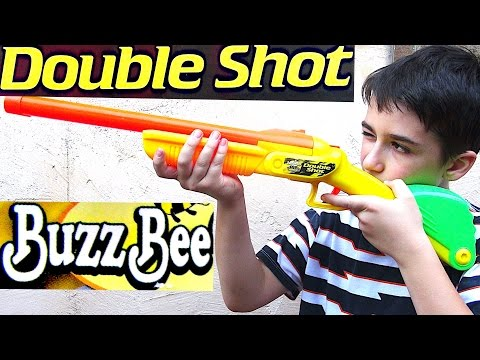 Buzz Bee Toys Air Warriors  Double Shot with Robert-Andre!!