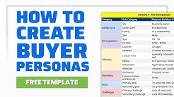 Using Data to Create Buyer Personas (Template Included)