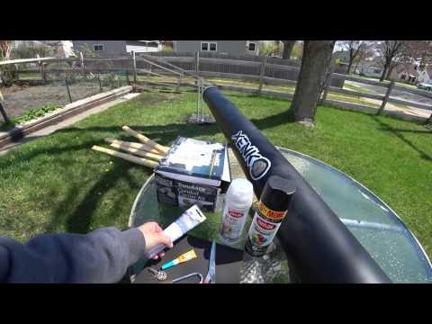 DIY Reese TransRack Conduit Carrier Travel Rod Tube