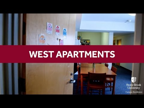 Stony Brook University- West Apartments Room Tour