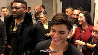DE LA HOYA & JARRELL MILLER CONGRATULATE RYAN GARCIA ON BIG KO WIN