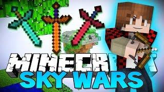 """Minecraft: """"WORST TEAMMATE EVER!"""" SkyWars Mini-Game Challenge!"""