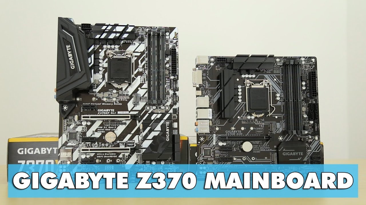 Chọn mainboard Z370 cho CPU Coffee Lake – Gigabyte Z370 series – An Phat PC