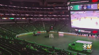 Stars Fans Cheer On Team At AAC