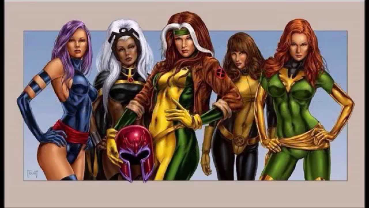 Top 10 Most Power Women in Marvel Updated - YouTube