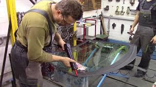 Ремонт кузова. Как мы стекло косячили. Body repair after an accident.
