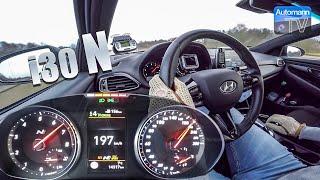 Хендай і30 Н (275л) - 0-200 км/год (60 кадрів в секунду)