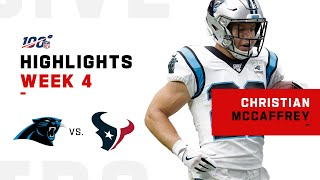 Christian McCaffrey's MONSTER Game w/ 179 Total Yds | NFL 2019 Highlights
