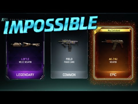1 COMMON SUPPLY DROP GETS 2 DLC WEAPONS!