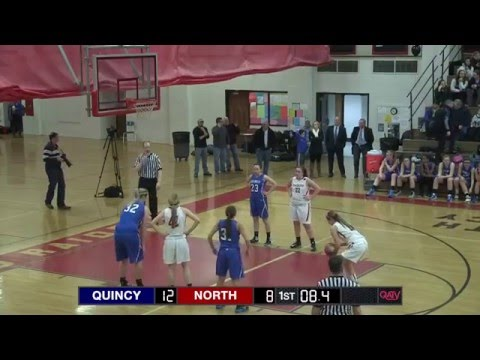 Quincy at North Quincy Girls Basketball - Feb 12, 2016