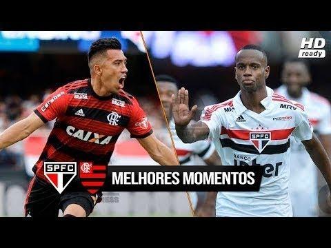 São Paulo 2 x 2 Flamengo - Gols e Melhores Momentos HD COMPLETO 04/11/2018 Brasileirão 2018
