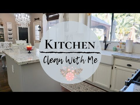 COMPLETE DISASTER   KITCHEN CLEAN WITH ME   CLEANING MOTIVATION 2019   MONICA ROSE