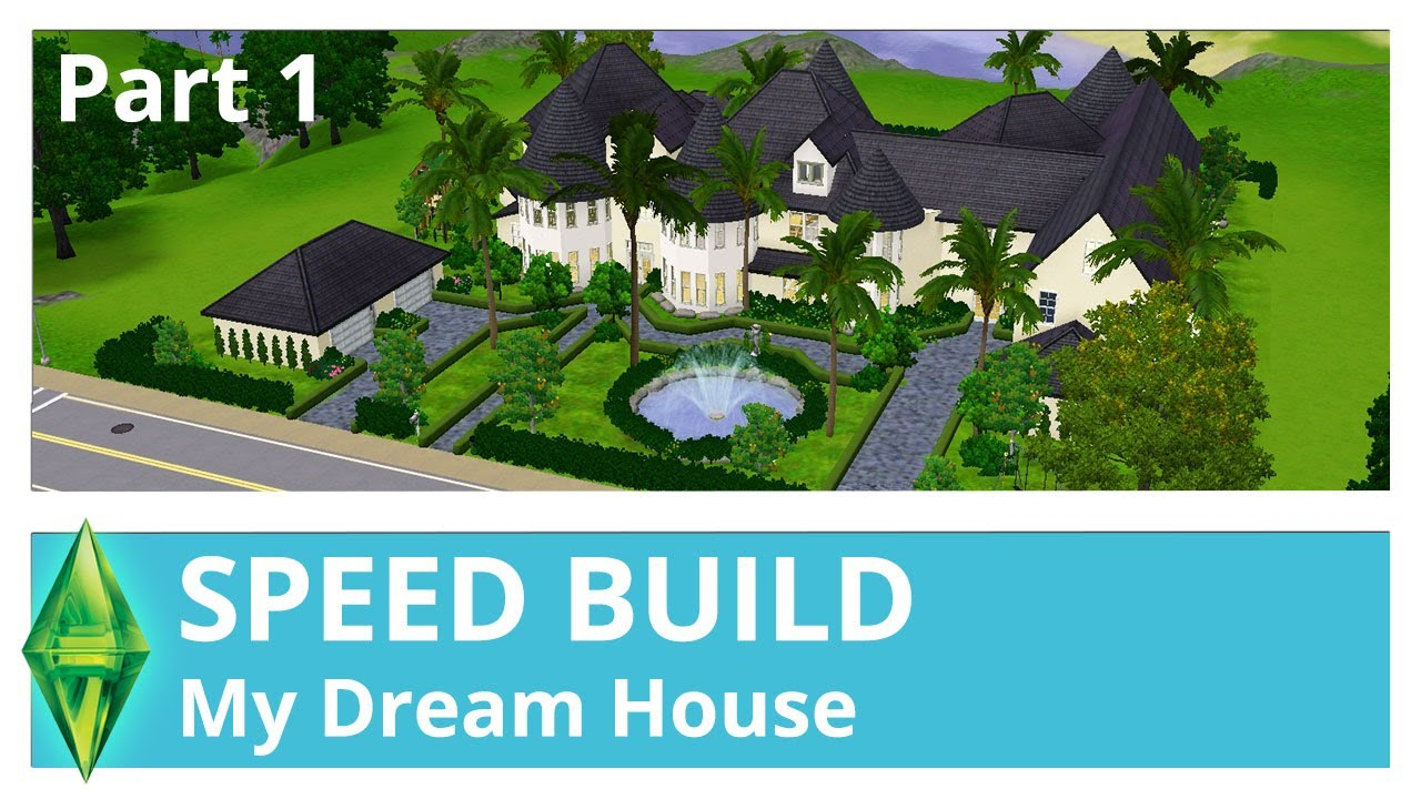 House of speed green bay - The Sims 3 Speed Build My Dream House Part 1