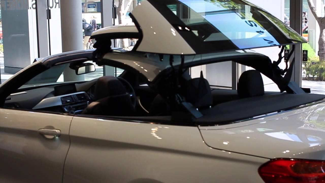 BMW 428I Convertible >> BMW 435i Cabriolet M Sport Retractable hardtop - YouTube