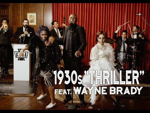 Thriller - Michael Jackson (1930s Jazz Cover) ft. Wayne Brad