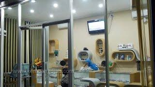 Jual Display Etalase Toko Minimalis Murah Dilengkapi Lampu Neon LED | 081390840100