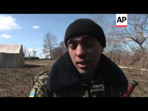 Ukrainian troops on Russian border say they want to go home