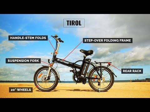 Leitner Australia - TIROL Step-Over Folding Electric Bike