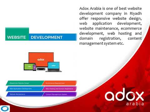 Web design & development company in saudi arabia