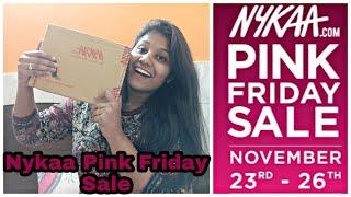 Nykaa Pink Friday Sale || Nykaa Sale 2018 || Prerna Jindal