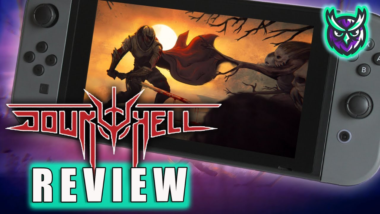 Down To Hell Nintendo Switch Review-Hell of a game? (Video Game Video Review)