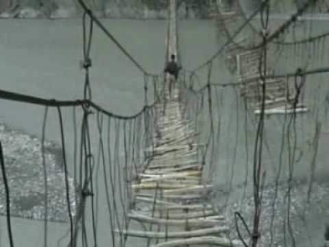 Bridges of the Northern Areas, Pakistan
