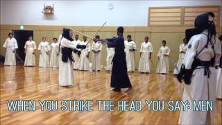 KENDO: Japanese Sword Fighting アメリカ人留学生の剣道体験