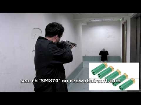 The Best Indoor Gun Ever - Tanaka M870 Marine Magnum (HD) - ...