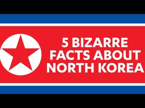 5 Bizarre facts about NORTH KOREA