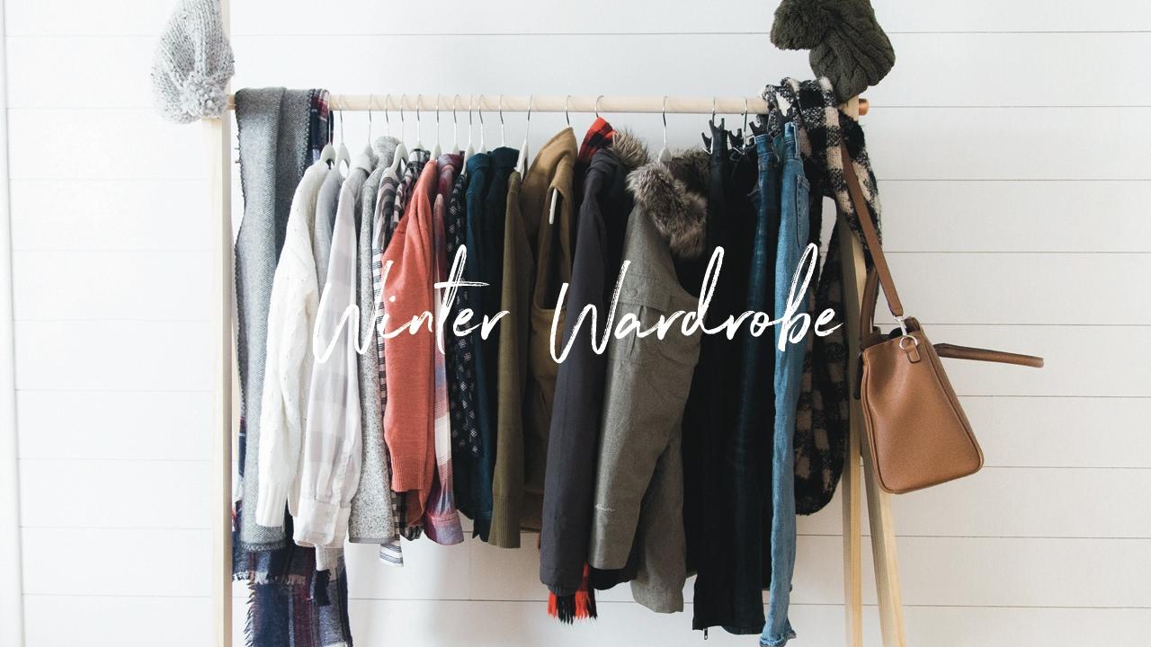 Winter Capsule Wardrobe 2017 Semi Minimalist Closet