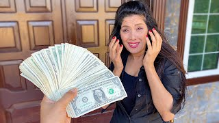 I Made my Mom Cry *$100,000 Dream House Surprise*