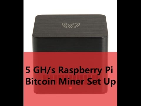 5GH/s Raspberry Pi Bitcoin Miner Set Up