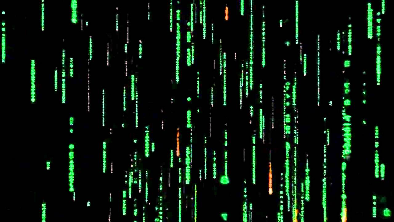Review The Matrix Falling Rain Source Code C Youtube