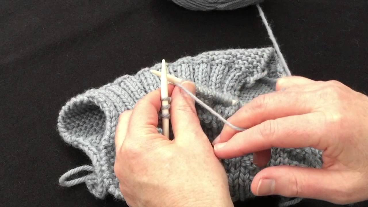 Knitting Plain And Purl Stitches Youtube