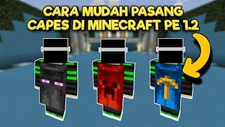 CARA MEMASANG CAPES DI MCPE 1.2 BUILD 2/3 - MUDAH & SIMPEL