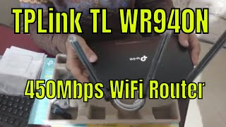 TP-Link TL-WR940N | 450Mbps Wireless N Router Unboxing Review