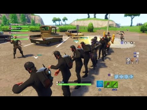 Fortnite funny moment|Lobby does the robot